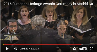 2016 European Heritage Awards Ceremony in Madrid